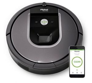 Best Vacuum for Pet Hair - iRobot Roomba 960 Robot Vacuum