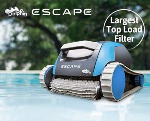 Best Above Ground Pool Vacuum Cleaners - Dolphin Escape Robotic Above Ground Pool Cleaner