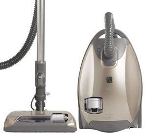 Best Vacuum for Shag Carpet - Kenmore Elite 81714 Pet-Friendly Ultra Plush Bagged Canister Vacuum