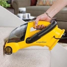Vacuuming Carpeted Stairs - Best Vacuum for Stairs - Eureka EasyClean 71B