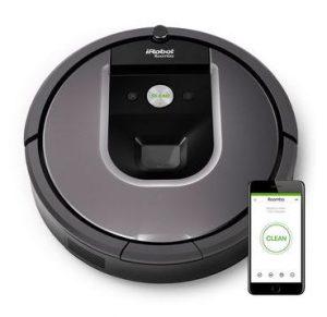 iRobot Roomba 960 - Best Robot Vacuum Cleaner