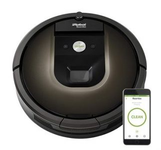 iRobot Roomba 980 - Best Robot Vacuum Cleaner