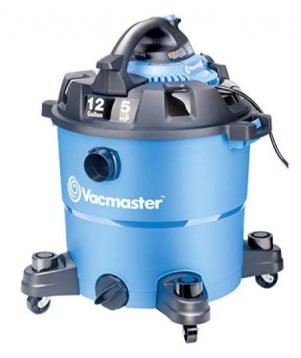 Vacmaster VBV1210 12 Gallon Wet/Dry Shop Vac - Best Shop Vac - Wet-Dry Shop Vacuum Cleaner Reviews