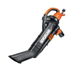 Best Leaf Vacuum Mulcher - Worx WG509 TRIVAC 12 Amp 3-In-1 Electric Blower Mulcher Vacuum