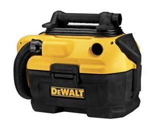 Best Vacuum for Car Detailing - DEWALT DCV581H 18 20-Volt MAX Cordless Corded Wet-Dry Vacuum