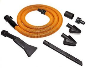 Best Vacuum for Car Detailing - RIDGID VT2534 6-Piece Auto Detailing Vacuum Hose Accessory Kit