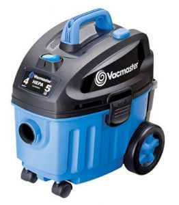 Best Vacuum for Car Detailing - Vacmaster 4 Gallon, 5 Peak HP with 2-Stage Industrial Motor Wet-Dry Floor Vacuum, VF408
