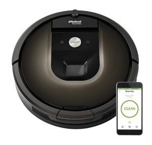 iRobot Roomba 980 Robot Vacuum with Wi-Fi Connectivity - Best Vacuum Cleaners