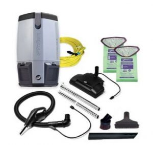 Best Commercial Vacuum Cleaner - ProTeam ProVac FS 6 Commercial Backpack Cleaner with HEPA Filter