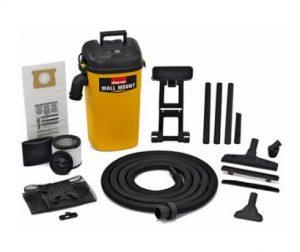 Best Garage Vacuum Wall Mounted - Shop-Vac 3942300 5 Gallon 4.0 Peak HP Wall Mount Wet-Dry Vacuum