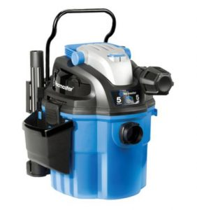 Best Garage Vacuum Wall Mounted - Vacmaster 5 Gallon, 5 Peak HP, with 2-Stage Motor, Wet Dry Vacuum VWM510