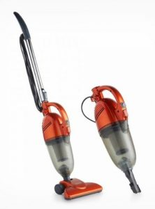 Best Vacuum Under 50 Dollars - VonHaus 600W 2 in 1 Corded Lightweight Stick Vacuum Cleaner