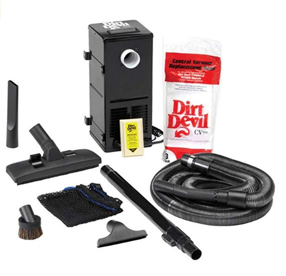 Best Vacuum for RV or Camper - H-P Products 9880 Dirt Devil Central Vacuum System CV1500