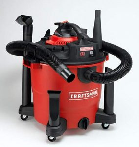 Best Vacuum for Drywall Dust - Craftsman XSP 16 Gallon Wet Dry Vacuum