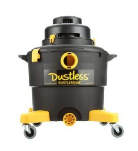 Best Vacuum for Drywall Dust - Dustless Wet Dry Vacuum D1603