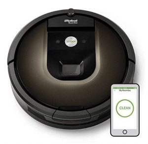 Best Vacuum for Laminate Floors - iRobot Roomba 980 Robot Vacuum