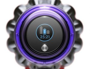 Dyson V11 Review Dyson Animal vs Torque Drive - Display