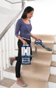 Shark Navigator Lift-Away Deluxe NV360 Upright Vacuum Review - Shark NV360 - Shark Navigator NV360 Stairs