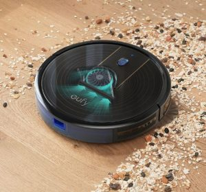 Best Vacuum for Concrete Floors - eufy BoostIQ RoboVac 15C Wi-Fi Upgraded Robot Vacuum