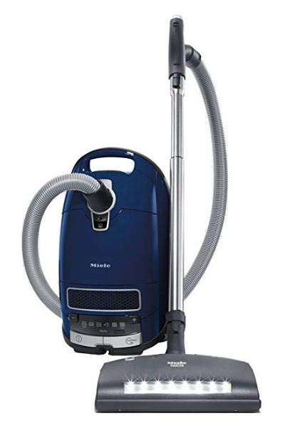 Best Vacuum for Berber Carpet - Miele Complete C3 Marin Canister Vacuum Cleaner
