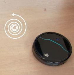 Bissell EV675 Robot Vacuum Review - Spiral Spot Mode