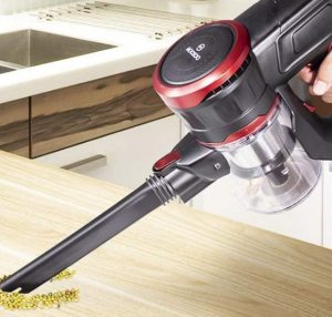 MOOSOO Cordless Stick Vacuum Review - Handheld Mode