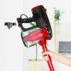 MOOSOO D600 Corded Stick Vacuum Review - Wall Mount