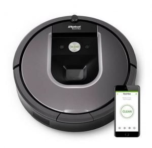 Best Vacuum for Bad Back - iRobot Roomba 960 Robot Vacuum