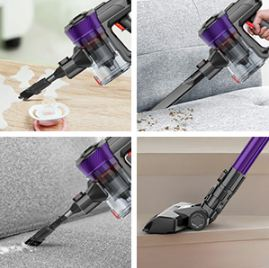 ONSON Cordless Stick Vacuum Cleaner Review - Handheld Option