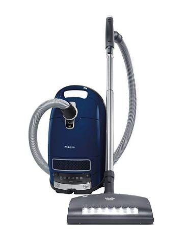 Best Vacuum for Asthma and Allergies - Miele Complete C3 Marin Canister Vacuum Cleaner