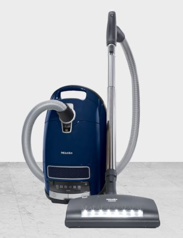 Miele Complete C3 Marin Canister HEPA Canister Vacuum Cleaner - Best Vacuum for Large Family