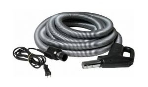 AirVac Central Vacuum Deluxe Hose 30 Ft. (V510PS) - Best Central Vacuum Replacement Hose