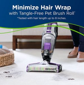 BISSELL Crosswave Pet Pro 2306A Review - Tangle-Free Pet Brush Roll