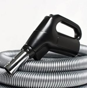 Broan-NuTone CH235 Crush-Proof Central Vacuum Hose with Swivel Handle 30-Feet - Best Central Vacuum Replacement Hose