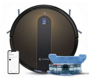 Coredy R300 vs R550 vs R600 vs R650 vs R750 - Intelligent Mopping System