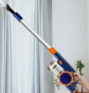 ORFELD 18000Pa 4 in 1 Cordless Stick Vacuum Review - ORFELD EV679 Cordless Stick Vacuum 18kPa - Cleaning Drapes