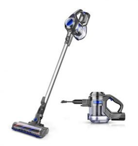 Best Vacuum for Linoleum Floors - MOOSOO XL-618A Cordless Stick Vacuum Cleaner