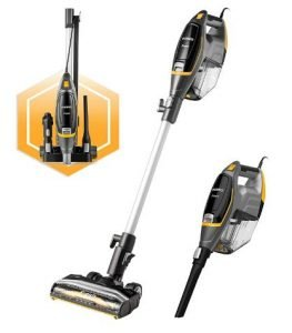 Best Small Vacuum Cleaners - Eureka Flash Lightweight Stick Vacuum Cleaner NES510