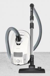 Best Small Vacuum Cleaners - Miele Compact C1 Pure Suction PowerLine Canister Vacuum
