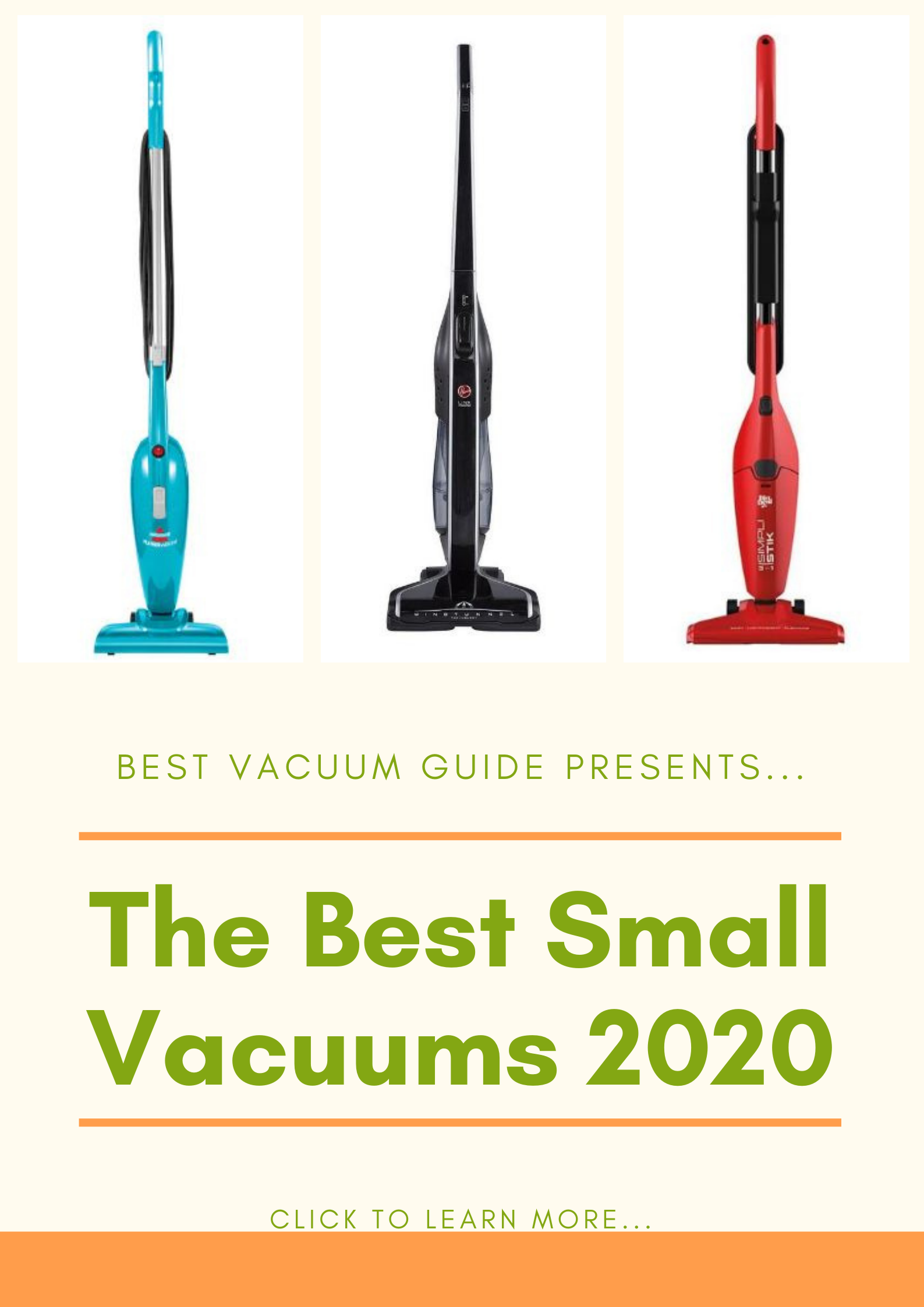 Best Small Vacuums 2020
