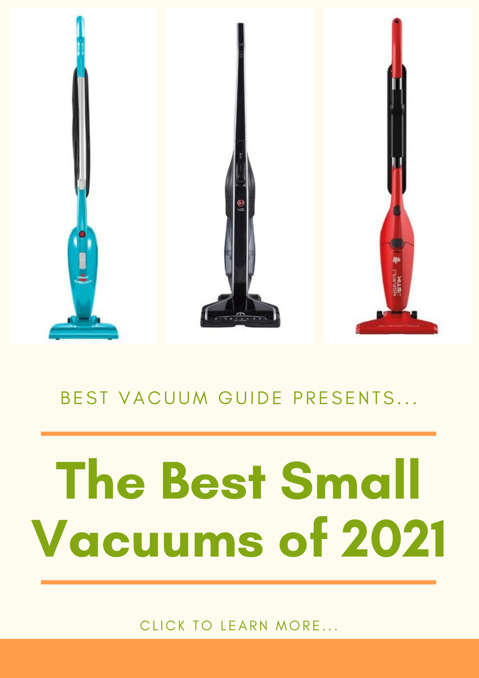 Best Small Vacuums 2021