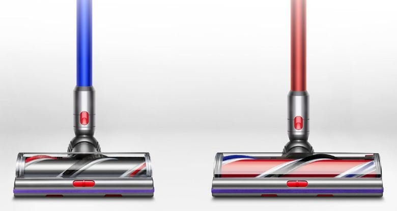 Dyson V11 vs V10 - V11 Outsize cleaner head