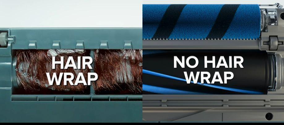 Shark Vertex UltraLight HZ2002 Corded Stick Vacuum Review - No Hair Wrap