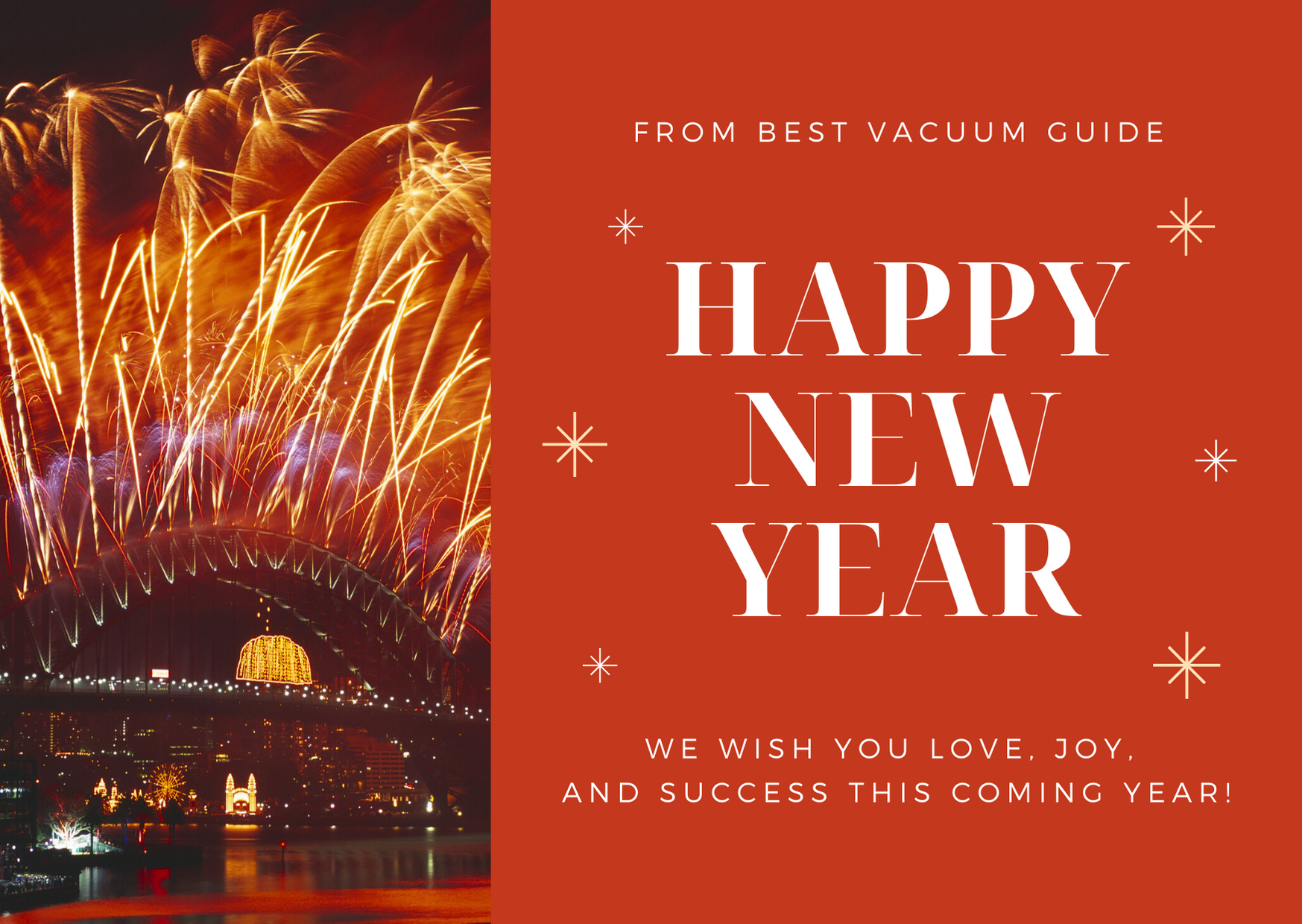 New Years Gift Ideas for Someone Who Loves Vacuum Cleaners - Happy New Year