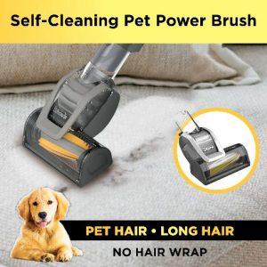 Shark Rotator LA502 ADV Review - self-cleaning pet power brush