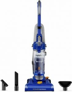 Best Vacuum with Height Adjustment - Eureka NEU182A PowerSpeed Lightweight Bagless Upright Vacuum Cleaner - Best Vacuum with Adjustable Height