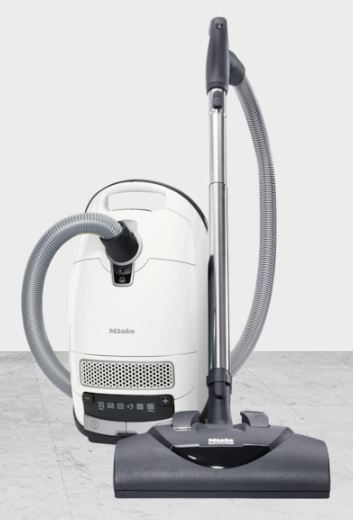 Best Vacuum with Height Adjustment - Miele Complete C3 Cat & Dog Canister Vacuum - Best Vacuum with Adjustable Height