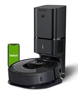 Types of Vacuum Cleaners - iRobot Roomba i7+ (7550) Robot Vacuum