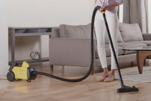 Best Vacuum for Nail Salon - Eureka Mighty Mite 3670G Corded Canister Vacuum Cleaner